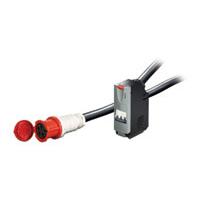 APC IT Power Distribution Module 3 Pole 5 Wire 63A IEC309 1040cm Energiedistributie - Zwart