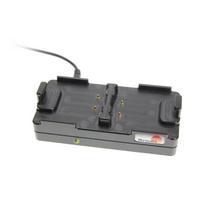 Brodit Battery Charger, 37x123x60mm, 173g, Black Oplader - Zwart