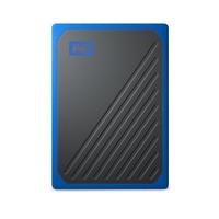 Western Digital My Passport Go - Noir,Bleu