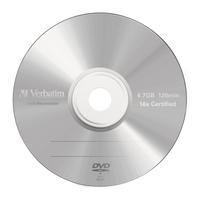 Verbatim DVD-R Matt Silver (her)schrijfbare DVD