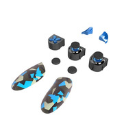 Thrustmaster ESWAP X Blue Color Pack - Zwart,Blauw,Wit