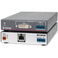 Extron DTP DVI 4K 230 Rx Récepteur AV - Gris