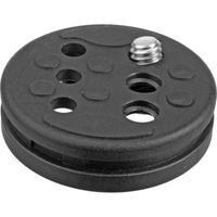 Manfrotto 585PL - Replacement Plate Accessoire de trépied - Noir