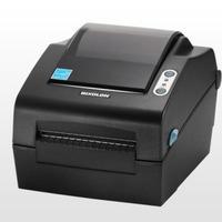Bixolon 203dpi, 178mm/s, Peeler, Ethernet, Serial, USB, Dark Grey Labelprinter - Zwart