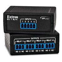 Extron IPA T RLY4 Power relay - Zwart