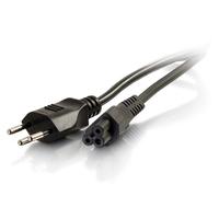 C2G 2m, SEV 1011 - C5 IEC Cordon d'alimentation - Noir