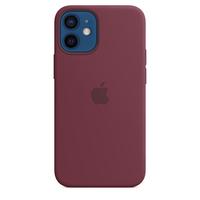 Apple Coque en silicone avec MagSafe pour iPhone 12 mini - Prune - Violet