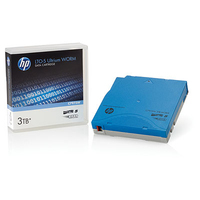 Hewlett Packard Enterprise LTO Ultrium Cartridges LTO-5 3TB WORM Datatape - Blauw
