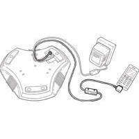 Konftel 300/300W Mobile/DECT cable Câble de téléphone portable