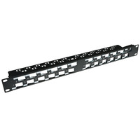 ACT Pp1033 24 port keystone panel 45 deg Patchpaneel