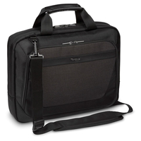 Targus Slimline Topload Laptop Case - Black/Grey Laptoptas