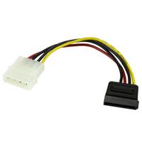 StarTech.com Câble Adaptateur d'Alimentation Molex vers SATA - LP4 Mâle vers SATA Power Femelle - 15 cm