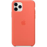 Apple Coque en silicone pour iPhone 11 Pro - Clémentine - Orange