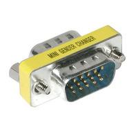 C2G HD15 VGA Mini Changer Kabel adapter - Zilver