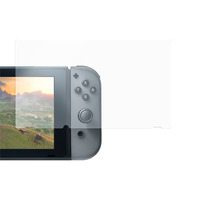 Deltaco 9H glass screen protector for Nintendo Switch Spelbesturing accessoires - Transparant
