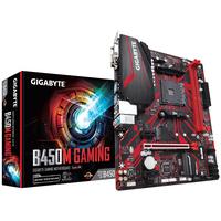 Gigabyte AMD B450, 2x DDR4 2933 MHz, PCIe x16, Gigabit LAN, Realtek ALC887, USB 3.1 Gen 1, HDMI, DVI-D, VGA, .....