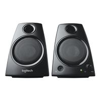 Logitech Z130 Stereo Speakers Rijk stereogeluid Luidspreker - Zwart
