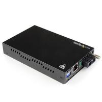 StarTech.com Convertisseur Ethernet Gigabit sur Fibre Optique MonoMode SC - 1000 Mb/s - 40km Convertisseur .....