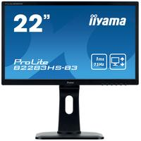 "Iiyama ProLite B2283HS 21.5"" moniteur Full HD au rétroéclairage LED - Noir"