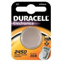 Duracell 2450 Batterij - Roestvrijstaal