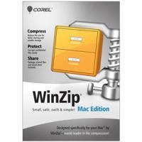 Corel WinZip Mac Edition, 10-24u, 1Y, MNT Backup software