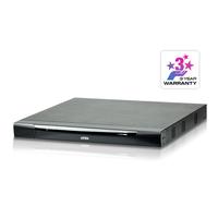 Aten 16 ports Multi-Interface Cat 5 sur IP accès de partage 1 local/4 distants Commutateur KVM - Métallique