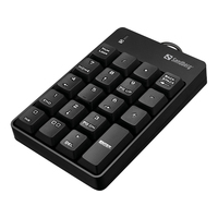 Sandberg USB Wired Numeric Keypad - Zwart