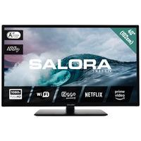Salora 304 series 40'' (102CM) CI+ FHD smart LED TV met Netflix DVB-C/T2 tuner en Wifi Led-tv - Zwart