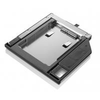 Lenovo ThinkPad 9.5mm SATA Hard Drive Bay Adapter IV Accessoire d'ordinateur portable - Noir,Argent