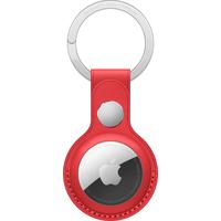 Apple Porte-clés en cuir AirTag - Rouge