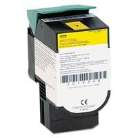 InfoPrint Toner Cartridge for IBM Color 1824/1826 MFP, Return program, Yellow, 4000 Pages Toner  - Geel