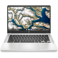 HP Chromebook - 14a-na0010nb Laptop - Zilver