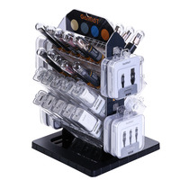 Garbot Grab&Go Populated Counter Display - Noir,Blanc