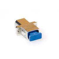 ACT Fiber optic LC-SC simplex adapter Adaptateurs de fibres optiques - Noir,Argent
