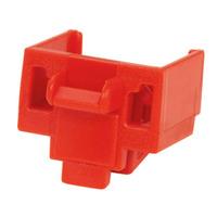 Panduit RJ45 Jack Blockout Device Borniers électriques - Rouge