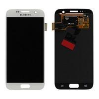 Samsung G930F Galaxy S7 LCD Display Module Pièces de rechange de téléphones mobiles - Blanc