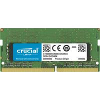 Crucial 32GB, DDR4, 2666 MHz, 260-pin SODIMM RAM-geheugen