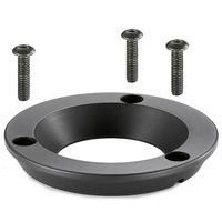 Manfrotto MVA060T - Adapter 75mm bowl to 60mm bowl Accessoire de trépied - Noir