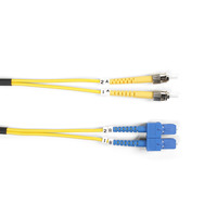 Black Box Câbles de raccordement monomodes améliorés, OS1/OS2 LSZH Câble de fibre optique