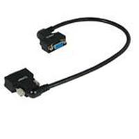 C2G VGA270 HD15 M/F Monitor Cable - Noir