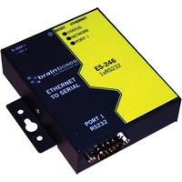 Brainboxes 1 Port RS232 Ethernet to Serial Adapter Netwerkkaart