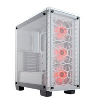 Corsair Crystal 460X RGB Boîtier d'ordinateur - Blanc