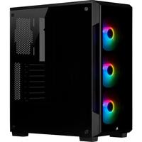 Corsair iCUE 220T RGB Boîtier d'ordinateur - Noir