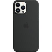 Apple Coque en silicone avec MagSafe pour iPhone 13 Pro Max - Minuit - Noir