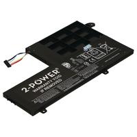 2-Power 4 Cell Laptop Accu 7,4V 4050mAh Laptop reserve onderdelen - Zwart