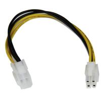 StarTech.com Câble d'extension d'alimentation processeur P4 4 broches ATX12V 20cm -M/F
