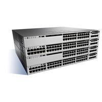 Cisco Catalyst 3850, Stackable, 24 Port, SFP+, 715W, 1 RU, IP Services feature set Switch - Noir,Gris