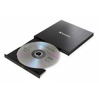 Verbatim 4K-Blu-ray-brander, USB 3.1 Gen 1 Type C Brander - Zwart
