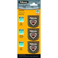 Fellowes SafeCut, 35 x 10 x 35mm Papier-knipper accessoire - Transparant