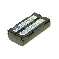 2-Power Camcorder Battery 7.2v 2200mAh - Noir